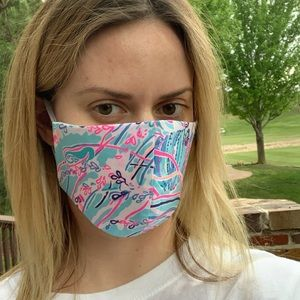 Accessories - Lilly Pulitzer Washable Reusable Face Mask